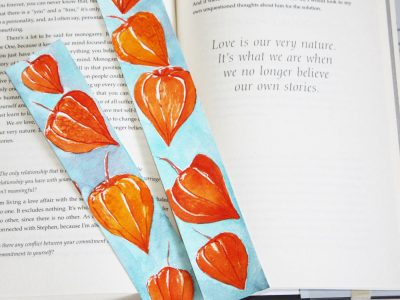 Kaya Jewelry Watercolor Bookmarks